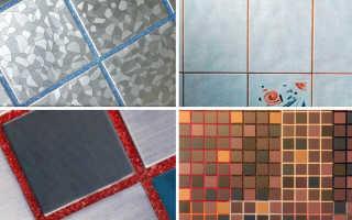 Как пользоваться затиркой для плитки на полу