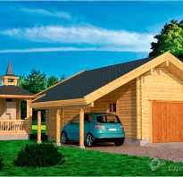 Как построить гараж в деревне