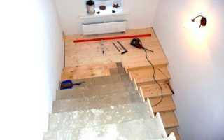 Как прикрепить доску к бетону