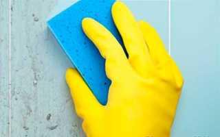 Как очистить плитку в домашних условиях