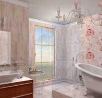 Как поставить панели в ванной