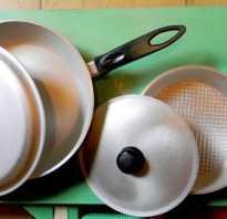 Как отчистить аллюмивую сковороду без усилий