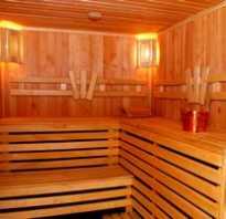 Как правильно обшить парную в бане