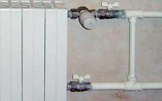 Как перекрыть воду в батарее в квартире