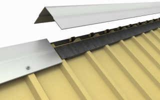 Как правильно стелить профлист на крышу