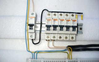 Как поменять автоматический выключатель