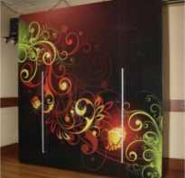 Как раскрасить старый шкаф