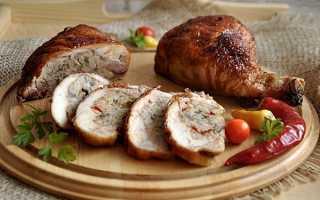 Как приготовить фаршированные куриные голени