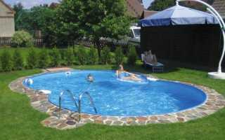 Как почистить бассейн на даче