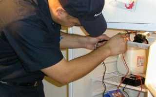 Как починить старый холодильник