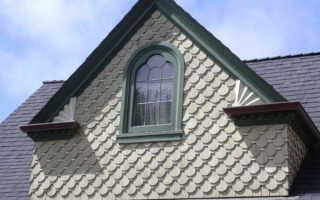 Как оформить фронтон крыши