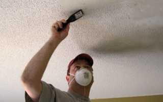 Как покрасить потолок валиком без брызг