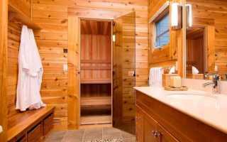 Как правильно сделать мойку в бане