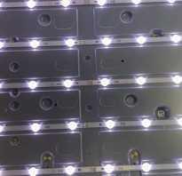 Как поменять светодиоды в телевизоре lg