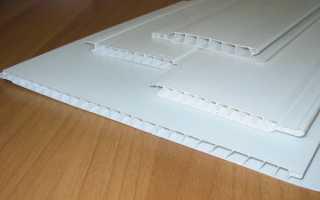 Как правильно установить пластиковые панели на потолок