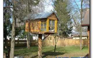 Как построить домик для голубей