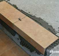 Как правильно класть плитку на лестницу