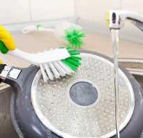 Как правильно чистить сковороду
