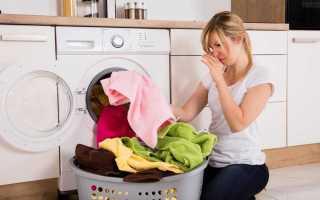 Как почистить стиральную машинку от неприятного запаха