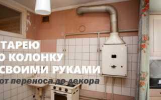 Как обыграть трубы на кухне в углу