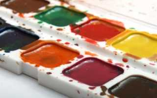 Как правильно красить акварелью