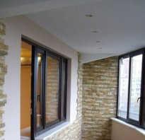 Как сделать потолок на балконе своими руками — фото, видео