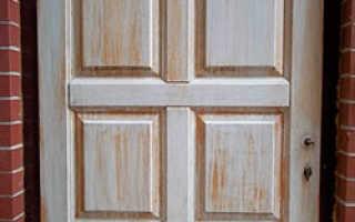 Как отремонтировать входную деревянную дверь
