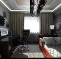 Как оформить комнату юноши