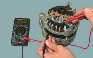 Как прозвонить щетки генератора
