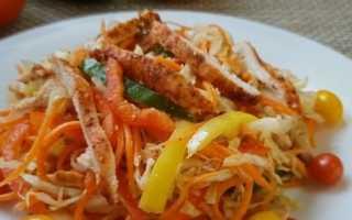 Как приготовить салат из свежей моркови