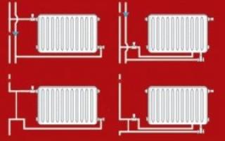 Как правильно должна быть подключена батарея отопления