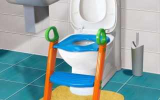 Как подобрать детское сиденье на унитаз