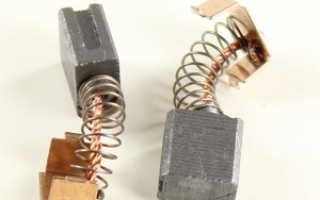 Как поменять щетки на электродрели