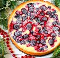 Как приготовить ягодный пирог