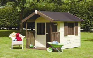 Как построить маленький домик для детей