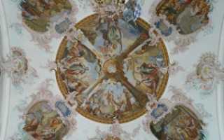 Фрески на потолок — примеры фресок в интерьере