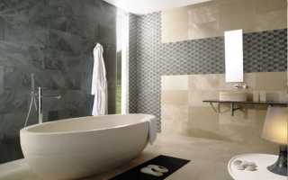 Как поставить плитку в ванной