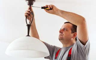 Как провести проводку к выключателю и люстре